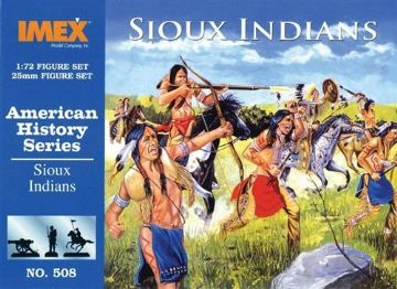 508 IMEX Sioux Indians 1:72